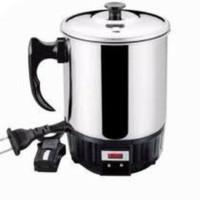 Mug Elektrik Q2 Pemanas Air Stainless Elektrik Heating Teko Listrik