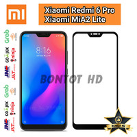 Xiaomi Redmi 6 Pro I MiA2 Lite Tempered Glass Color Full Layar HP