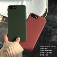 FOR OPPO F5/F5 YOUTH, A83, F1S, A39/A57, A37 - CANDY SOFT CASE SILIKON