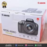 [NEW] Canon EOS 4000D Kit 18-55mm III (Gudang Kamera Malang)