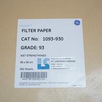 Whatman Filter Paper / Kertas Saring Halus Grade 93 Sheets 580 x 580