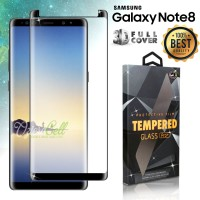 Tempered Glass SAMSUNG Galaxy Note 8 Black 3D Full Cover - Glass Pro