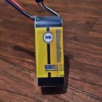 DOominiOn Infinity GRAPHENE Tech Lipo Battery 1500mAh 110C 4S1P