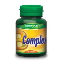 Nutrimax B Complex 30'S Vitamin Syaraf, Otak