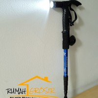 Senter LED Kompas Trekking Pole-Tongkat Gunung-Hiking-Rumah Grosir-