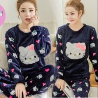 Harga damai fashion jakarta piyama baju tidur hk navy | antitipu.com