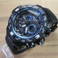 jam tangan pria digital anti air skmei gshock dziner digitec lasebo