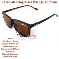 Grosir Kacamata Sport Sunglasses Pria Quik BROWN