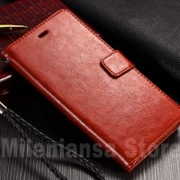 Flip Cover PU Leather Premium Cover Case Casing HP Lenovo Vibe C A2020
