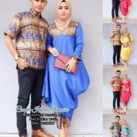 Harga batik sarimbit sepasang gamis muslim wanita baju pesta couple   antitipu.com