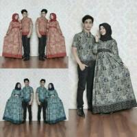 Harga batik couple sarimbit seragam pesta hijab gamis baju muslim   antitipu.com