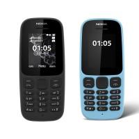 HP Nokia 105 Dual Sim 2017 Original Garansi Resmi 1 Tahun Hitam