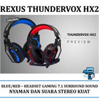 Headset Gaming Rexus Thundervox Hx2 - 7.1 Surround Sound, w/ LED