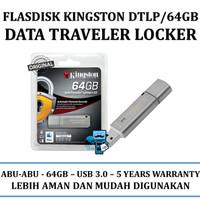 USB Flashdisk Kingston DataTraveler Locker+ G3 USB 3.0 - DTLPG3/64GB