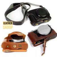Tas kamera leather case Fujifilm X70 Removable battery