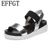 76sepatu fashion Musim Panas Hot Jual sandal wanita sandal terbuka toe