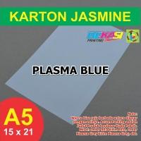 Kertas Karton Jasmine A5 - PLASMA BLUE