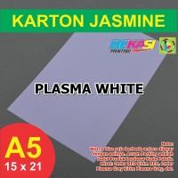 Kertas Karton Jasmine A5 - PLASMA WHITE