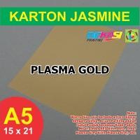 Kertas Karton Jasmine A5 - PLASMA GOLD