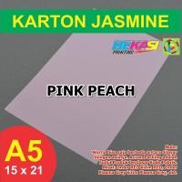 Kertas Karton Jasmine A5 - PINK PEACH