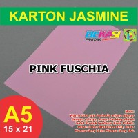 Kertas Karton Jasmine A5 - PINK FUSCHIA