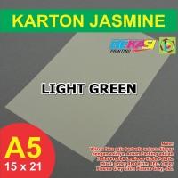 Kertas Karton Jasmine A5 - LIGHT GREEN