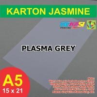 Kertas Karton Jasmine A5 - PLASMA GREY