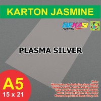 Kertas Karton Jasmine A5 - PLASMA SILVER