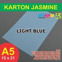 Kertas Karton Jasmine A5 - LIGHT BLUE