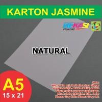 Kertas Karton Jasmine A5 - NATURAL