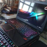 Laptop Gaming Bener Asus ROG GL553VE i7 GTX 1050Ti Baru 1 Bulan BU