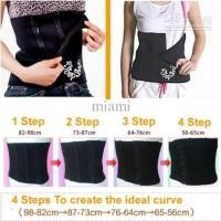 STEP BELT - Korset Pelangsing 4Step Shape Perut 4 Langkah Slimming