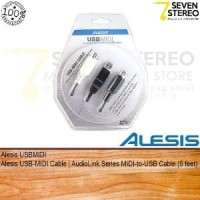 Alesis USBMIDI Audiolink Series MIDI to USB Cable Limited
