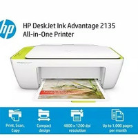 HP Deskjet Ink Advantage 2135 All-in One printer Garansi resmi