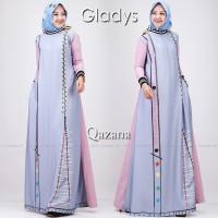 GAMIS CASUAL SIMPLE QAZANA by Gladys ORIGINAL BRANDED