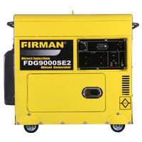 GENSET FIRMAN FDG9000SE2 6 KW DIESEL GENERATOR (SILENCE)
