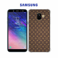 Casing Hp LV Pattern Samsung Galaxy A6 Custom Case