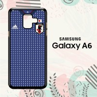 Casing Samsung Galaxy A6 2018 Custom HP Jepang Jersey Home LI0175