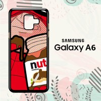 Casing Samsung Galaxy A6 2018 Custom HP Spiderman Nutella LI0185