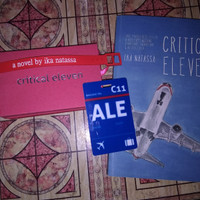 Critical Eleven, novel special edition + souvenir