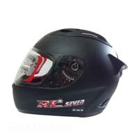 KYT RC7 RC Seven Helm Full Face - Black Doff