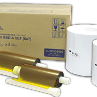 Refill DNP Fotolusio DS-RX1 Photobooth Printer - Media Set + Paper 4R