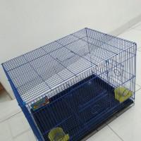 Kandang besi lipat untuk kucing/kelinci/ayam/burung dll (JNE)