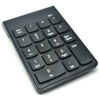 Keypad Numeric Wireless 2.4GHz 10 Meter - Black