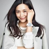 Jam Tangan Wanita Putih Original Skmei Analog Casio Tipis Cantik Unik