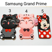 Silicon Case Karakter For Samsung Grand Prime / Silicon Case G530