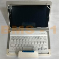 LEATHER CASE UNIVERSAL TABLET 7-8 INCH DENGAN BLUETOOTH KEYBOARD
