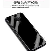 Samsung galaxy A8+ 2018 / a8 plus 2018 tempered glass phone case
