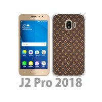 Casing Hp LV Pattern Samsung Galaxy J2 Pro (2018) Custom Case