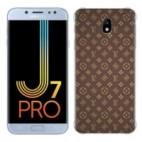 Casing Hp LV Pattern Samsung Galaxy J7 Pro (2017) Custom Case
